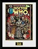 1art1 Doctor Who - Villains Comic Gerahmtes Poster Für