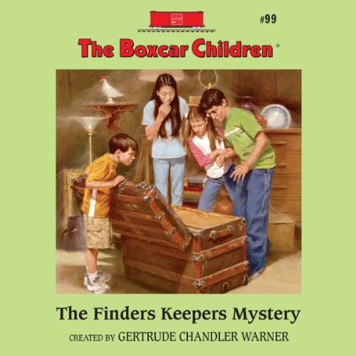 The Finders Keepers Mystery audiobook cover art