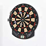 Best Electronic Dart Boards - HOMCOM LCD Electronic Dartboard Set Features 26 Games Review