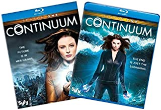Continuum: The Complete First and Second Seasons Blu-ray 2-Pack Collection (Season 1 & Season 2) [SyFy Channel Bluray Set]