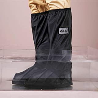 TPBOR Long-Tube Disposable rain Boots Outdoor Shoes Waterproof Shoe Cover Anti-Slip Wind and Insect Proof