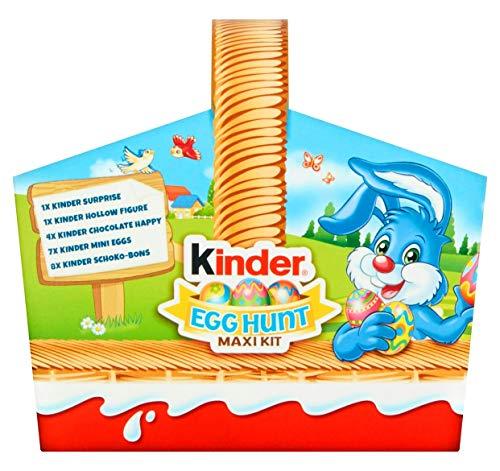 Maxi kit per caccia all'uovo di Pasqua Kinder cioccolato 185g