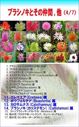 burasinoki to sononakama hoka: Callistemon (engeikankeisyo) (Japanese Edition)
