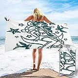 poli/éster Chica Vampiro 044115-Toalla de playa algod/ón 120 x 70 cm