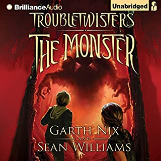 Troubletwisters Book 2: The Monster cover art