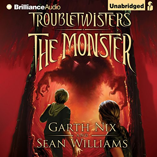 Troubletwisters Book 2: The Monster audiobook cover art