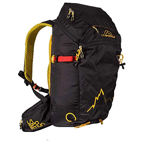 La Sportiva Moonlite Backpack Gelb-Schwarz, Snowboard-Rucksack, Größe 30l - Farbe Black - Yellow