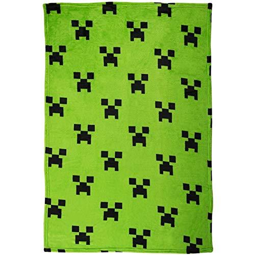 Halantex Minecraft 100x150 Fleece Wohndecke Kuscheldecke Lizenz