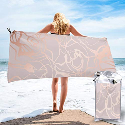 N/F Texture Of Marble With Imitation Of Rose Gold Vector Image Bath Towels Large Bath Towel Set Super Absorbent And Fast Drying For Bathroom And Beach 2 Sizes Personalized