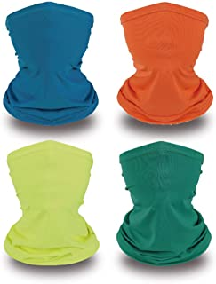 Neck Gaiters for Kids Face Covering Balaclava Rave...