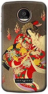 R2232 Yoshitoshi Thirty Six Ghosts Case Cover For Motorola Moto Z Force, Z Play