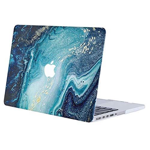 MOSISO Custodia Rigida Compatibile con MacBook PRO Retina 13 Pollici A1502/A1425 Case 2015/2014/2013/Fine 2012 Plastic Cover Copertina con Motivo on Case Cover,Marmo Creativo Dell'onda