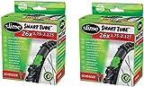 2 x Slime Bike Inner Tubes 26 x 1.75-2.125 Mountain Bikes Schrader Valves - Slime Filled To Instantly Seal And...