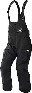 FXR Men Excursion Ice Pro Bib Pant (Black/Hi-Vis - Large)