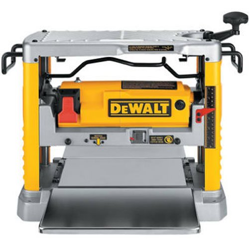 DEWALT Benchtop Planer, Single Speed, 15-Amp, 12-1/2-Inch (DW734)