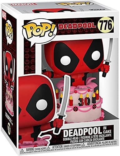 Funko 54652 Pop Marvel: Deadpool 30th- Backyard Grill Deadpool-Deadpool en Pastel