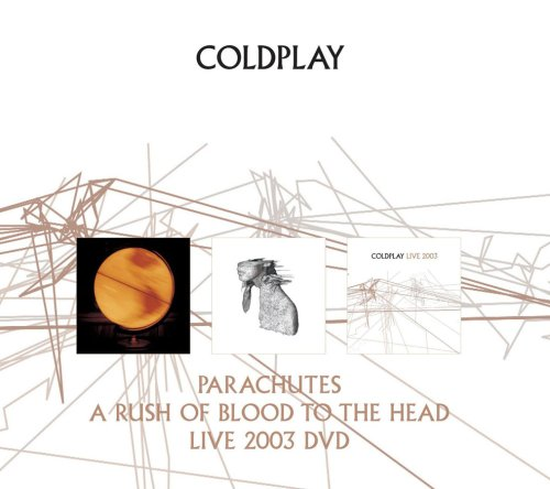 PARACHUTES A RUSH OF BLOOD TO THE HEAD LIVE 2003 DVD(DVD付)