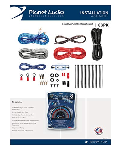 MAX POWER KIT8G Amplifier Kit