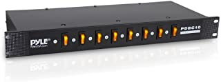 Pyle-Pro PDBC10 8 Outlet Rack Mount Power Supply Center w/Each Outlet Switch