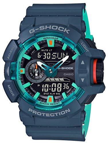 [カシオ] 腕時計 ジーショック G-SHOCK GA-400CC-2AJF メンズ ブルー