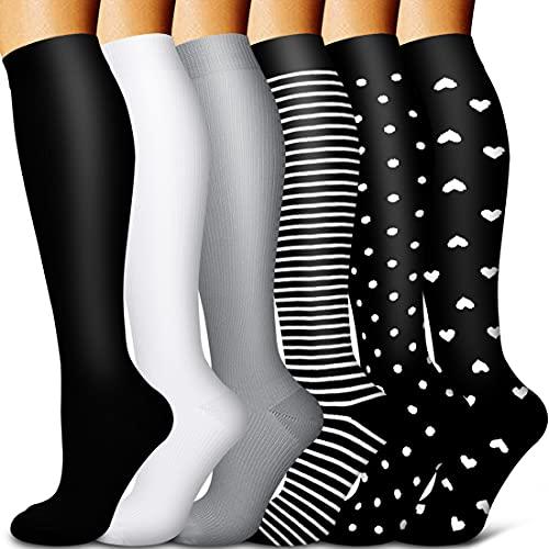 Copper Compression Socks Women & Men...