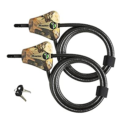 Master Lock Python Trail Camera Adjustable Camouflage Cable Locks 8418KA CAMO
