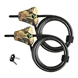 Master Lock Python Trail Camera Adjustable Camouflage Cable Locks 8418KA-2 CAMO...
