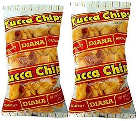 Prodiana Yuca Snacks 2 5 oz Chips Pack of 2 product image