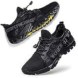 FANDEE Men's Trail Running Shoes Workout Walking Water Sneakers Fitness Athletic Walking Jogging Sneakers Hiking Trainer Cross Training Crossfit