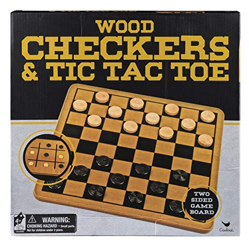 Our #3 Pick is the Cardinal Wood Checkers Set