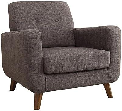 Enjoyable Amazon Com Rivet Cove Modern Tufted Accent Chair With Short Links Chair Design For Home Short Linksinfo
