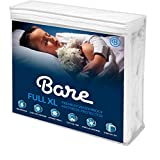 Bare Home Full XL Size Premium Mattress Protector - 100% Waterproof - Vinyl Free Hypoallergenic - 10 Year Warranty - (Full XL)