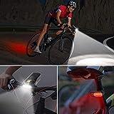 Zoom IMG-1 omeril luce led per bicicletta