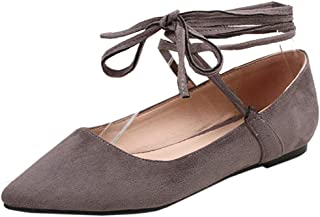 Nonbrand TAONEEF Women Fashion Court Shoes Flat Lace