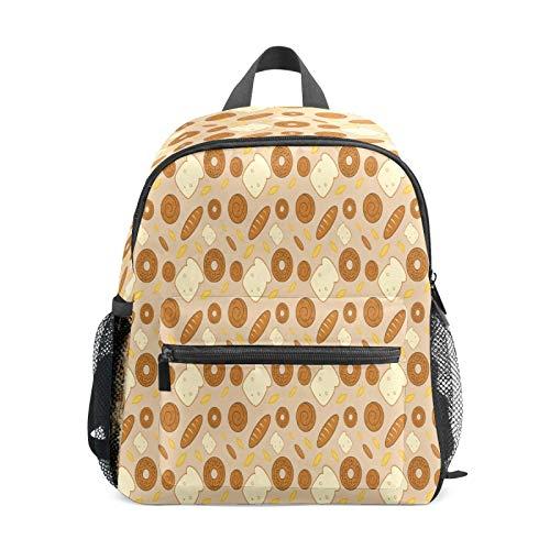 Kinder-Rucksack für Vorschule, für Jungen und Mädchen, leichte Schultertasche, für 1–6 Jahre, perfekter Rucksack für Kleinkinder im Kindergarten, für Brot, Weizen, Honig, Topf, Essen