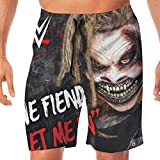 Tskention Code Orange WWE Let Me in Men's Beach Pants Swim Trunks Quick Dry Sports Shorts for Father's Day L