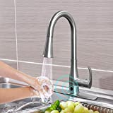Touchless Kitchen Faucet, Kitchen Sink Faucet with...