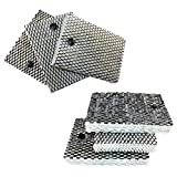 HQRP 6-Pack Humidifier Filters Compatible with Holmes HWF100, HWF100CS Type E, BWF100, BWF100CS, HF235, H100-3-5, 9000221, 9000241, 9000511 Replacement