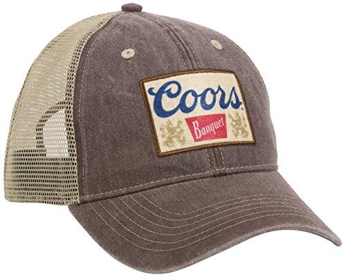 Outdoor Cap Unisex-Erwachsene Coors Casual Mesh Back Cap Einheitsgröße Braun/Khaki