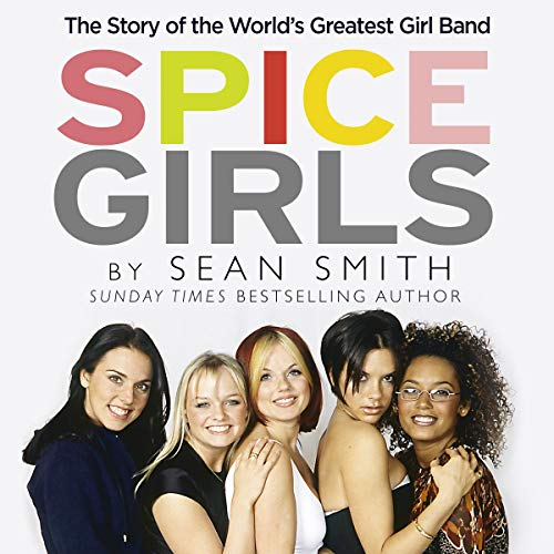 Spice Girls audiobook cover art