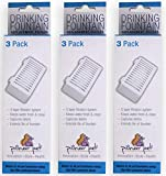 Pioneer Pet 3 Pack of T-Shaped Filter for Food, Water and Serene Fountain