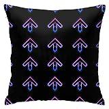 Hdadwy DDR Arrows Home Dekorative Kissenbezüge für Sofa Couch Kissen Kissenbezüge 18x18 Zoll