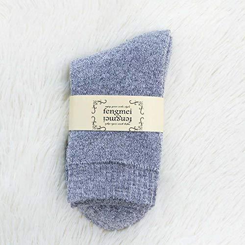 Damen Socken,1 Paar Winter Herbst Wamer Frauen Verdicken Thermal Snow Socks Nahtlose Terry Stiefel Boden Schlafen Socken Für Frauen Männer,Farbe 4.