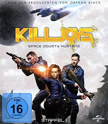 Killjoys - Space Bounty Hunters: Staffel 1 [Blu-ray]