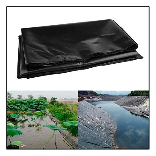 GAOYUY Teichfolie, Fischteich-Bettauskleidungen Verstärkt, Landschaftsbau Fischteich Bachbrunnen Und Wassergarten (Color : Black, Size : 1X5M)