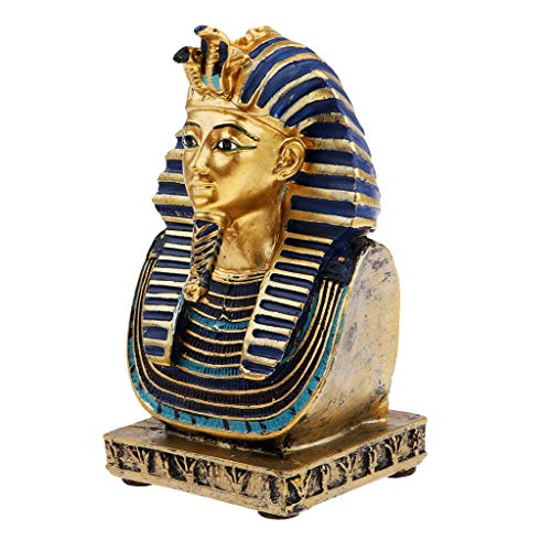 1 Stück Figur Statue Sammlerfigur Dekoration für secretaire oder Esszimmer und Kunst-Sammler - Ägyptischer Pharao
