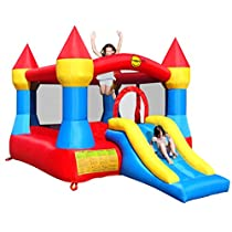 Duplay 12ft Turret Bouncy Castle complete with Airflow Fan