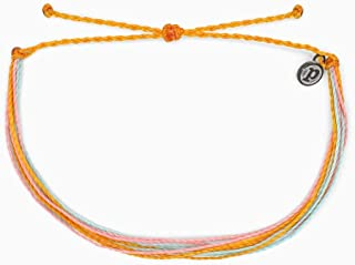 Pura Vida Originals Anklet - Plated Charm, Adjustable Band - 100% Waterproof