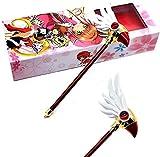 UNBAND Cardcaptor Sakura Clear Card Sakura Kinomoto Anime Cosplay Magic Wand/Staff Girls Kids' Birthday Gifts Costume Wands