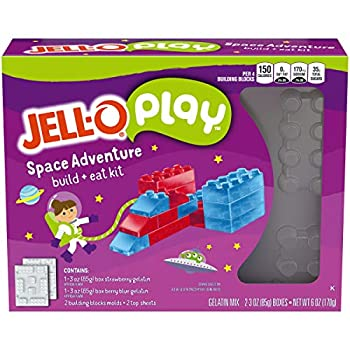 JELL-O Jigglers Despicable ME 3 Mold Kit Blueberry/Strawberry 6 Ounce